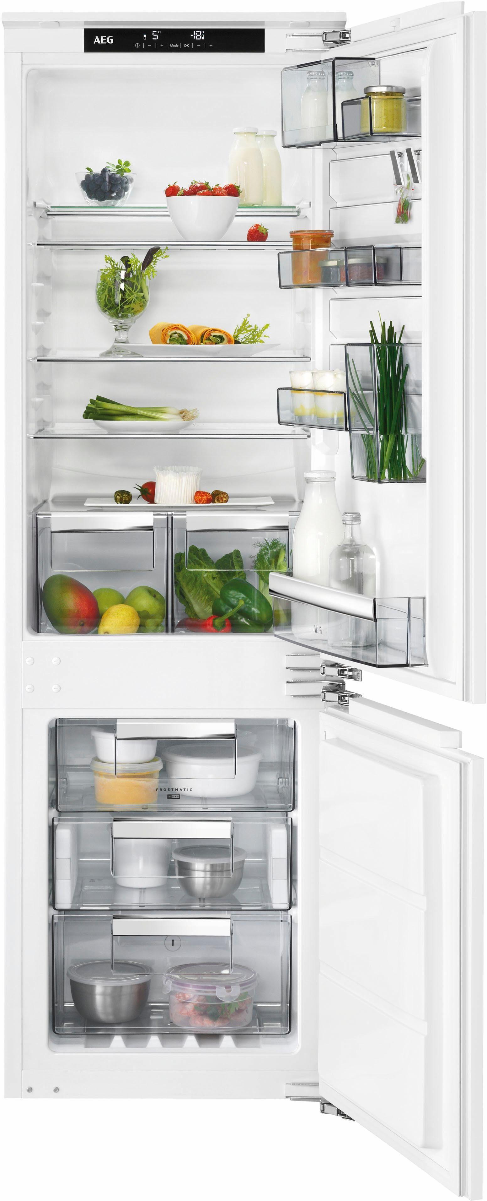 AEG integrierbarer Einbaukühlschrank SANTO SCE81824NC, Energieklasse A++, 176,9 cm hoch