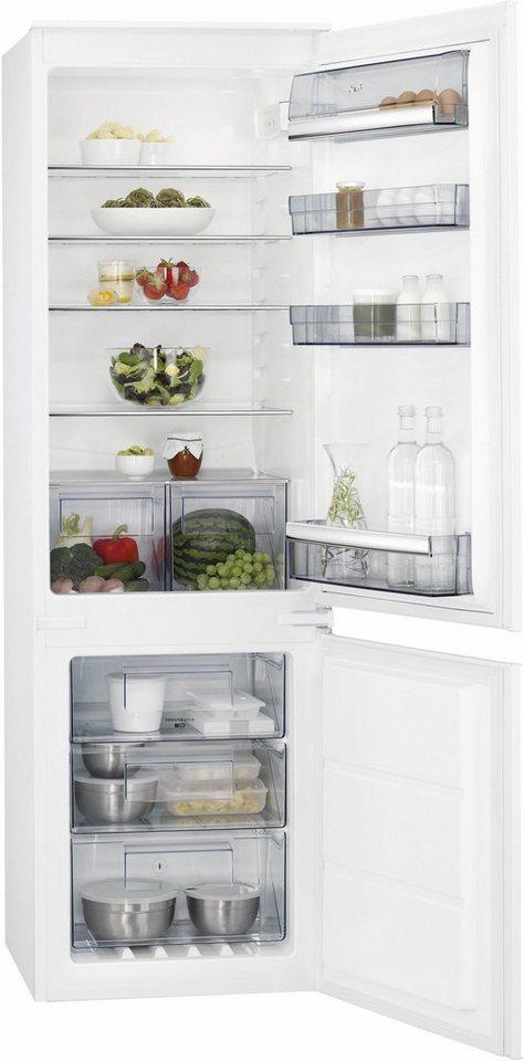 AEG integrierbarer Einbaukühlschrank SANTO SCB61826NS, Energieklasse A++, 176,9 cm hoch in weiß