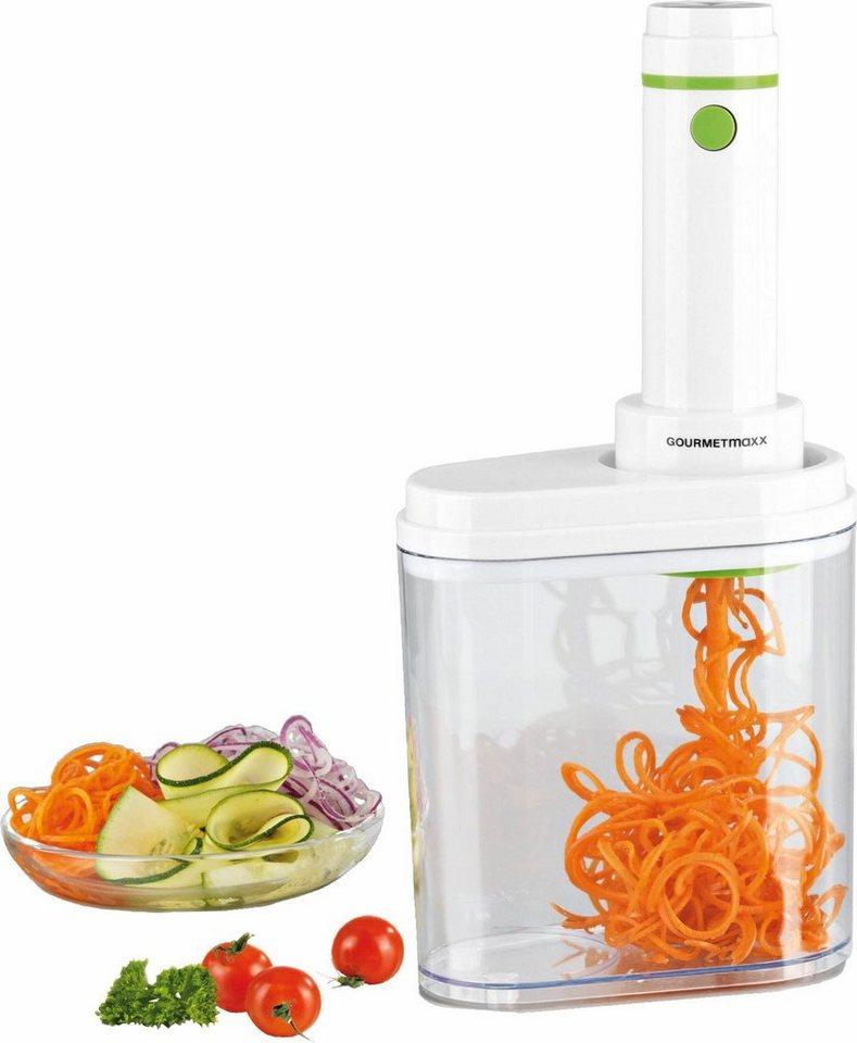 Gourmet Maxx Spiralschneider, 100 Watt, weiß/limegreen in weiß/limegreen