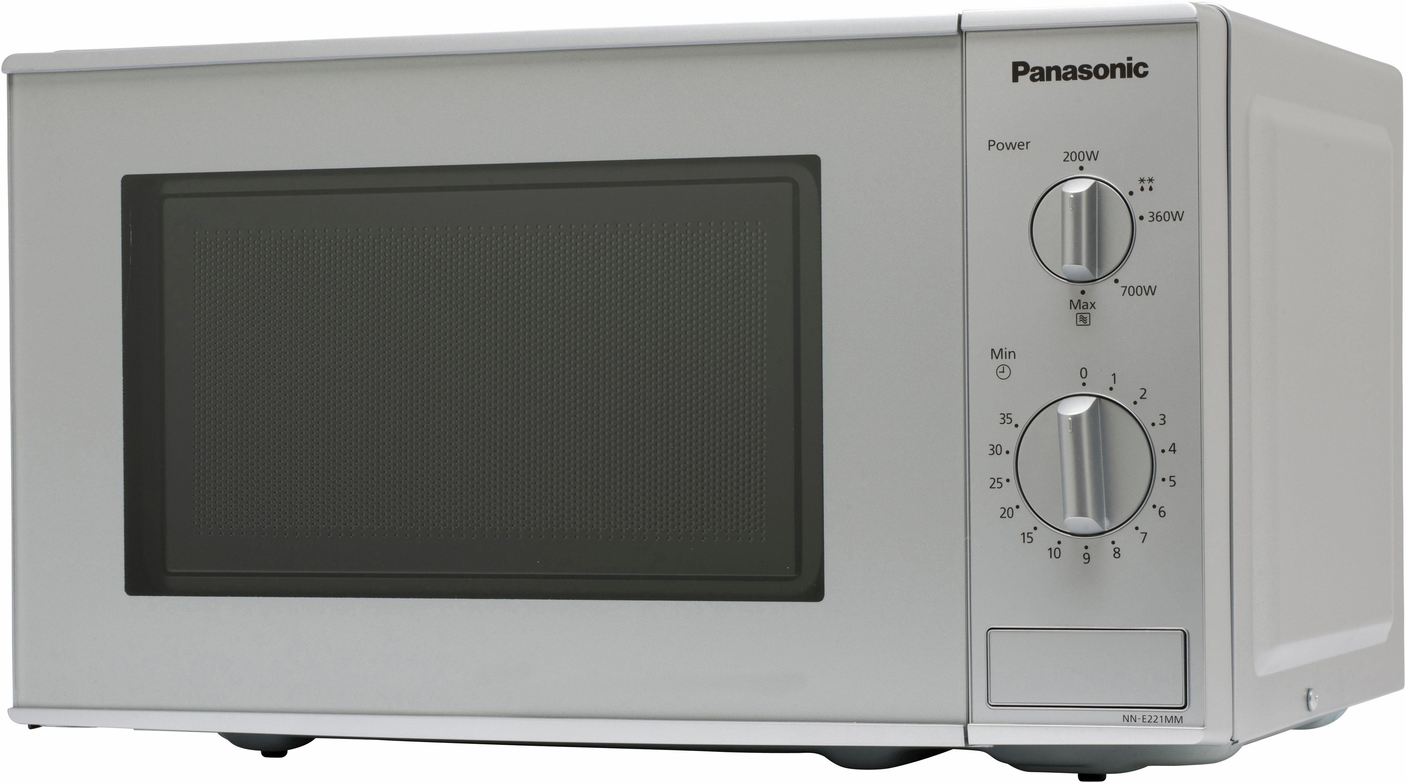 Panasonic Mikrowelle NN-E221MMEPG, 20 Liter, 800 Watt