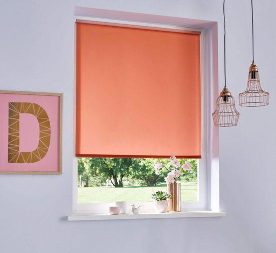 Seitenzugrollo »THEMSE«, my home, verdunkelnd, ohne Bohren, freihängend, Hitzeschutz