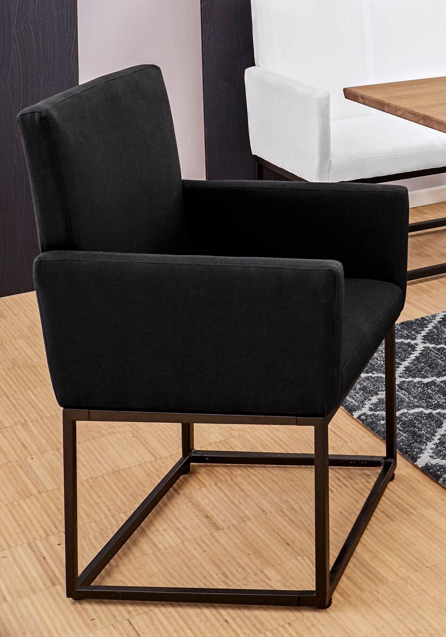 GMK Home & Living Armlehnstuhl »Alva«, in zwei Farben