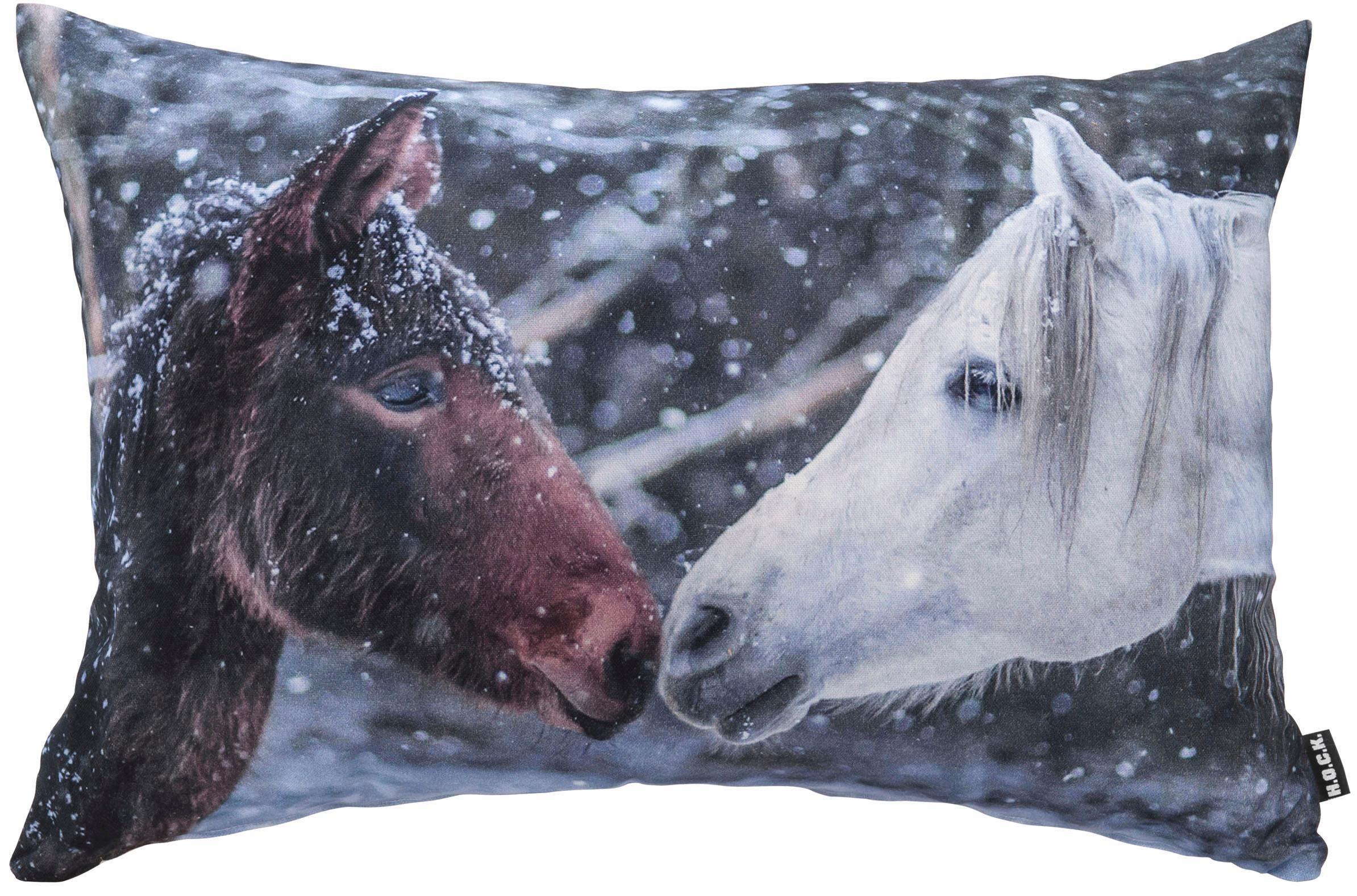 Hock Kissen mit Pferdemotiv