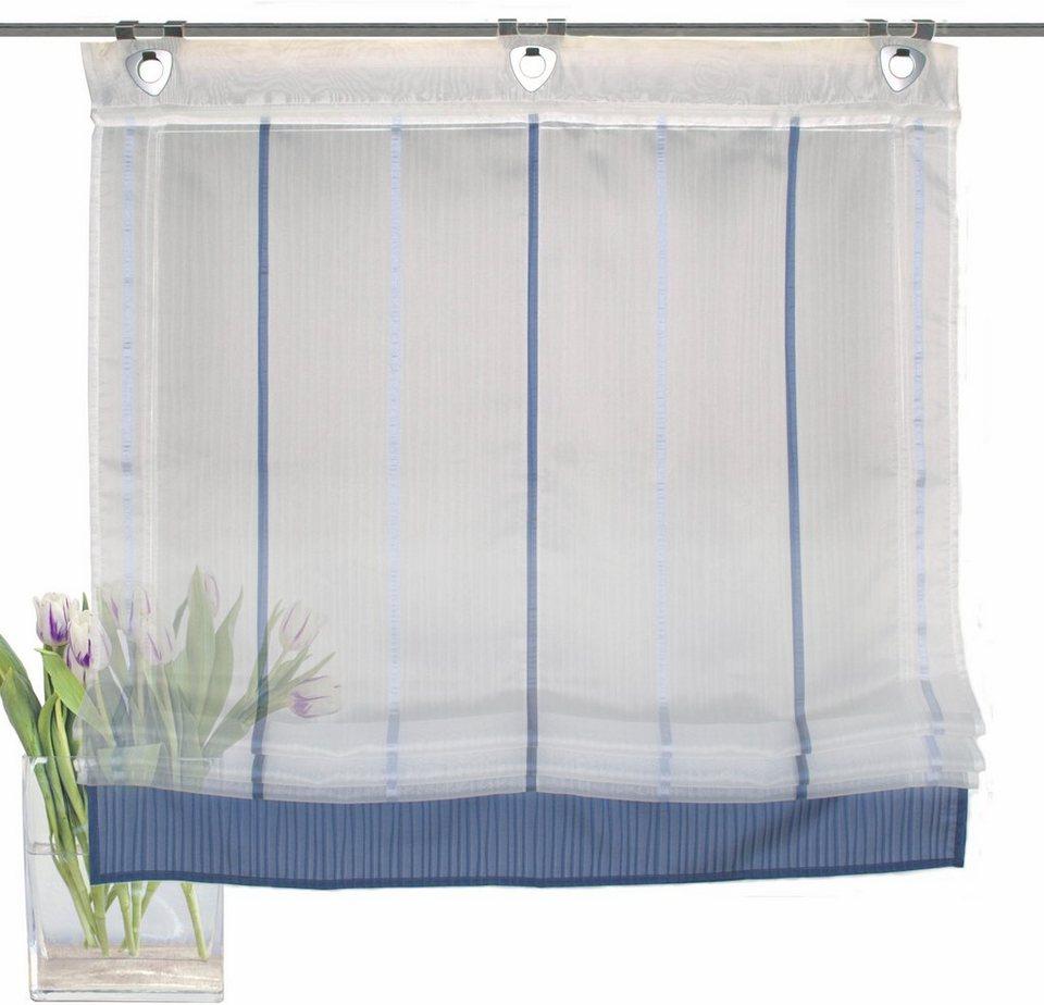 raffrollo home wohnideen leuna mit hakenaufh ngung online kaufen otto. Black Bedroom Furniture Sets. Home Design Ideas