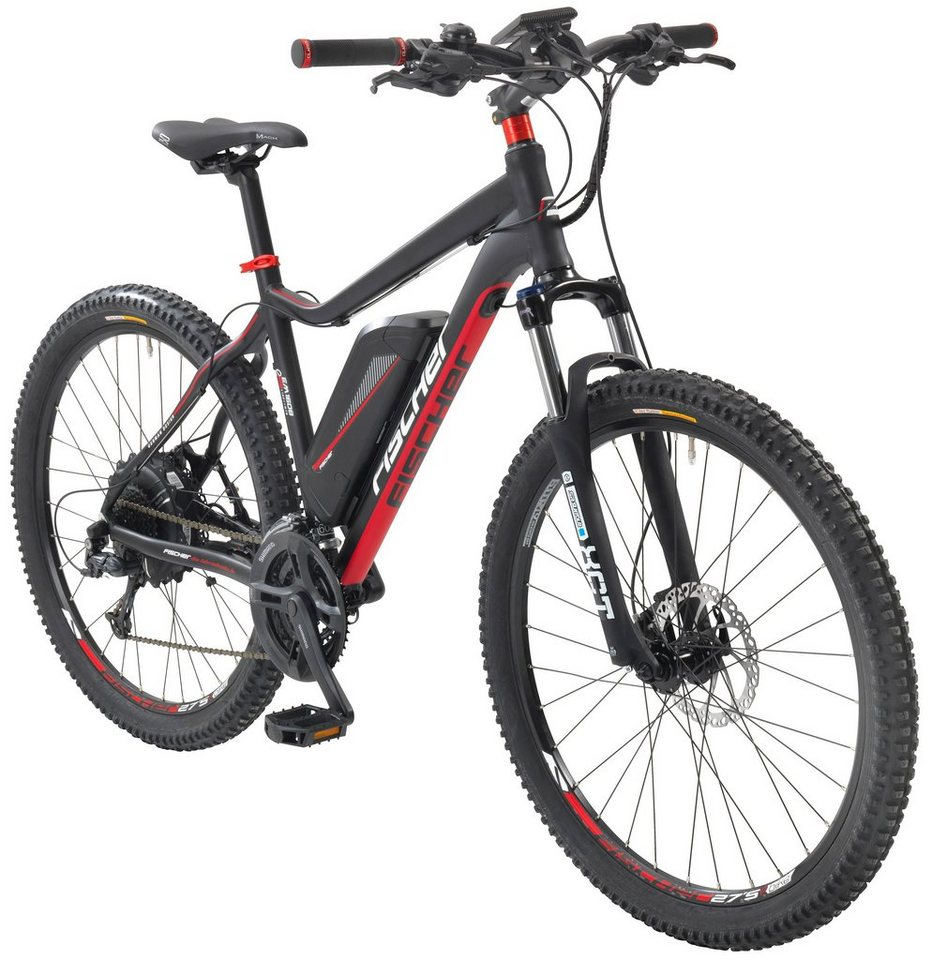 fischer fahrraeder e bike mountainbike em 1608 27 5 zoll 24 gang heckmotor 418 wh online. Black Bedroom Furniture Sets. Home Design Ideas