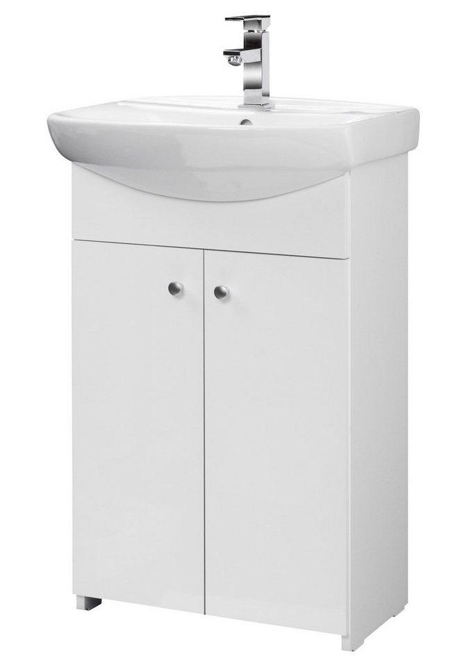 aquaform waschtisch maxi 2 breite 55 cm 2 tlg online kaufen otto. Black Bedroom Furniture Sets. Home Design Ideas
