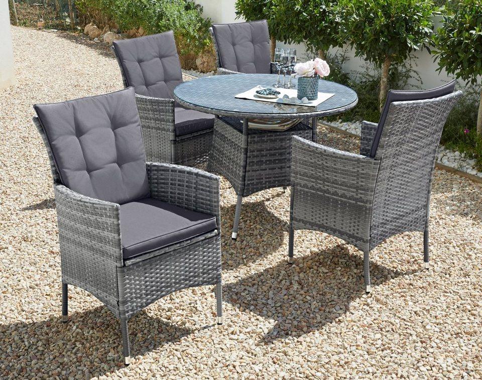 Cool Santiago New Sessel Tisch O Cm Gartenmobel Grau Rattan With Gartenmbel  Rattan Lounge