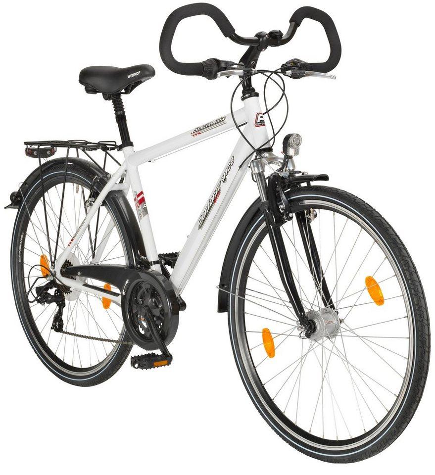 Trekkingrad (Herren) »71,12 cm (28 Zoll)« in weiß