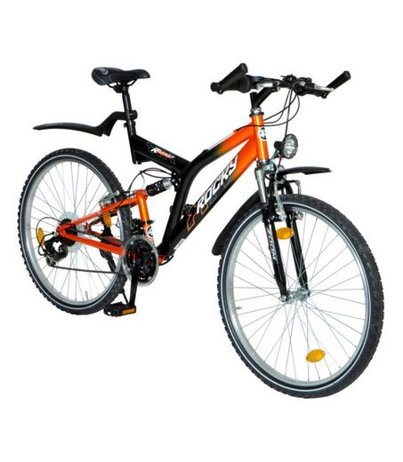 rocky mountainbike houston 26 zoll 21 gang v bremsen. Black Bedroom Furniture Sets. Home Design Ideas