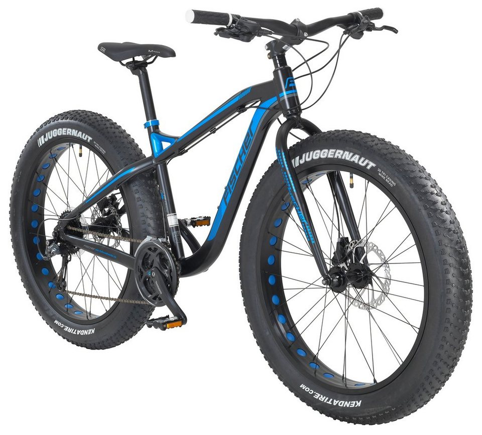 fischer fahrraeder fatbike tampa 26 zoll 24 gang hydr. Black Bedroom Furniture Sets. Home Design Ideas