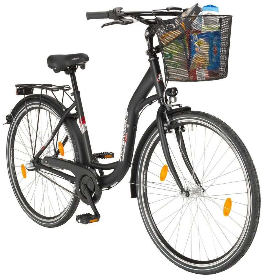 performance citybike damen lyon 26 28 zoll 3 gang r cktrittbremse online kaufen otto. Black Bedroom Furniture Sets. Home Design Ideas