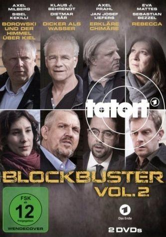 DVD »Tatort - Blockbuster Vol. 2 - 2 Disc DVD«