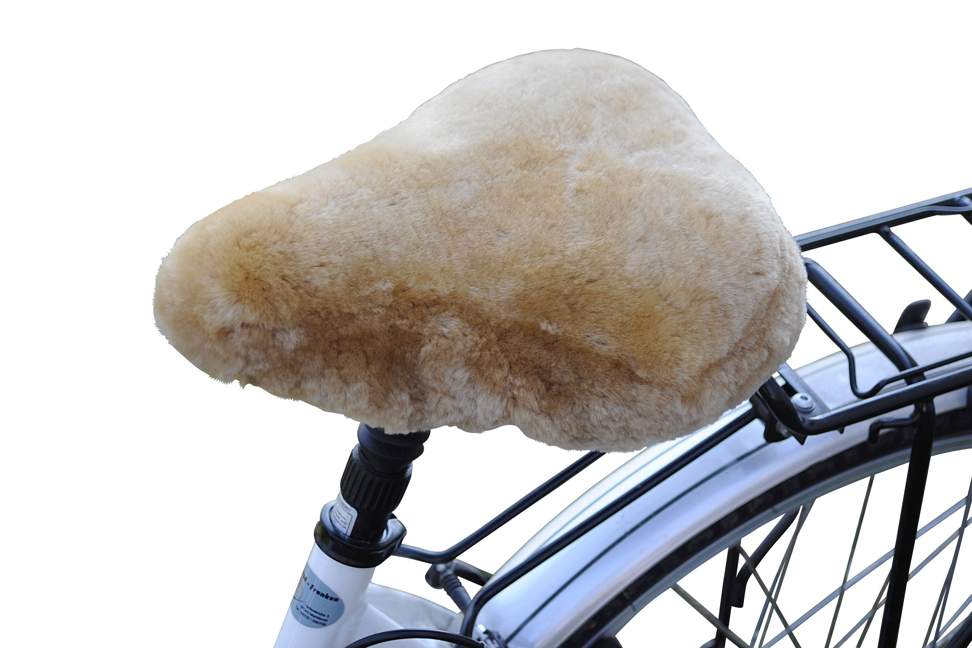 Rökü Fahrradsattelbezug »Lammfell Cruiser«