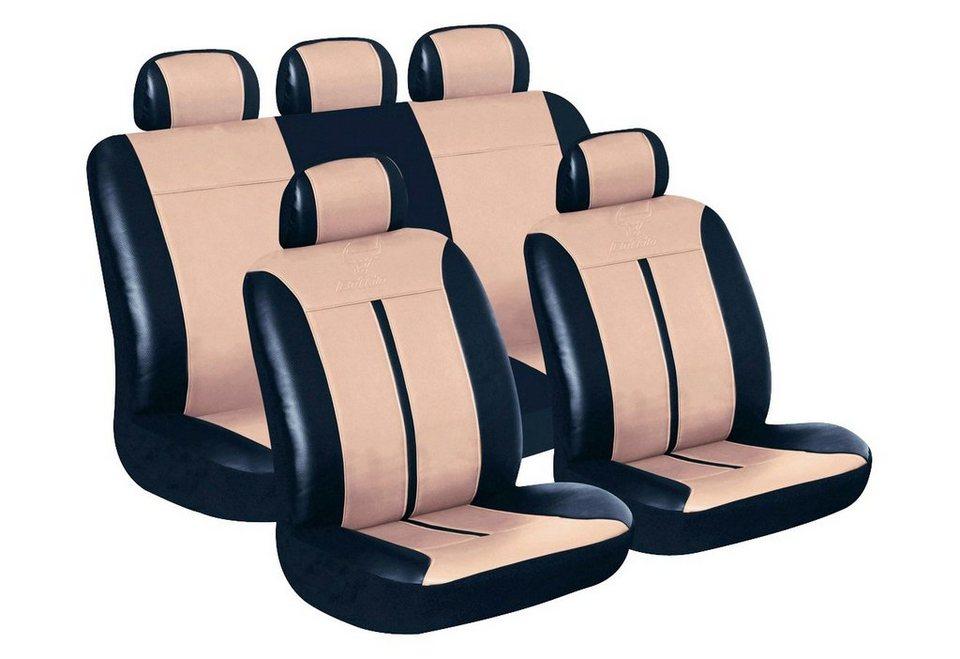 Set: Autositzbezug »Buffalo« in braun