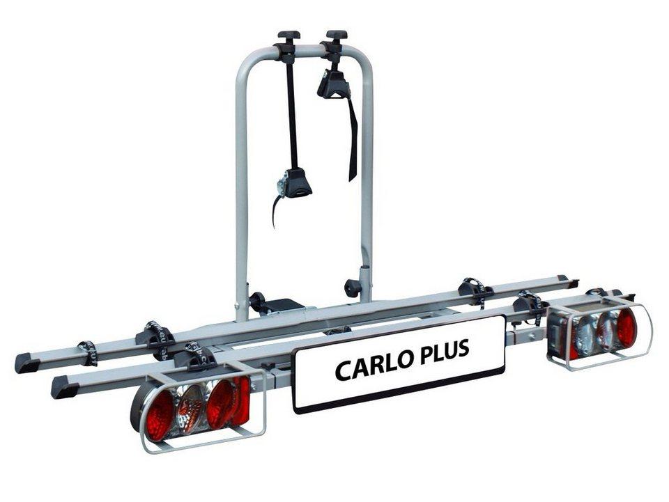 Fahrradträger »Carlo Plus« in silberfarben
