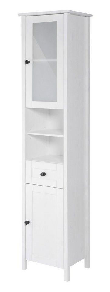Hochschrank »Sylt«, Breite 40 cm in weiß