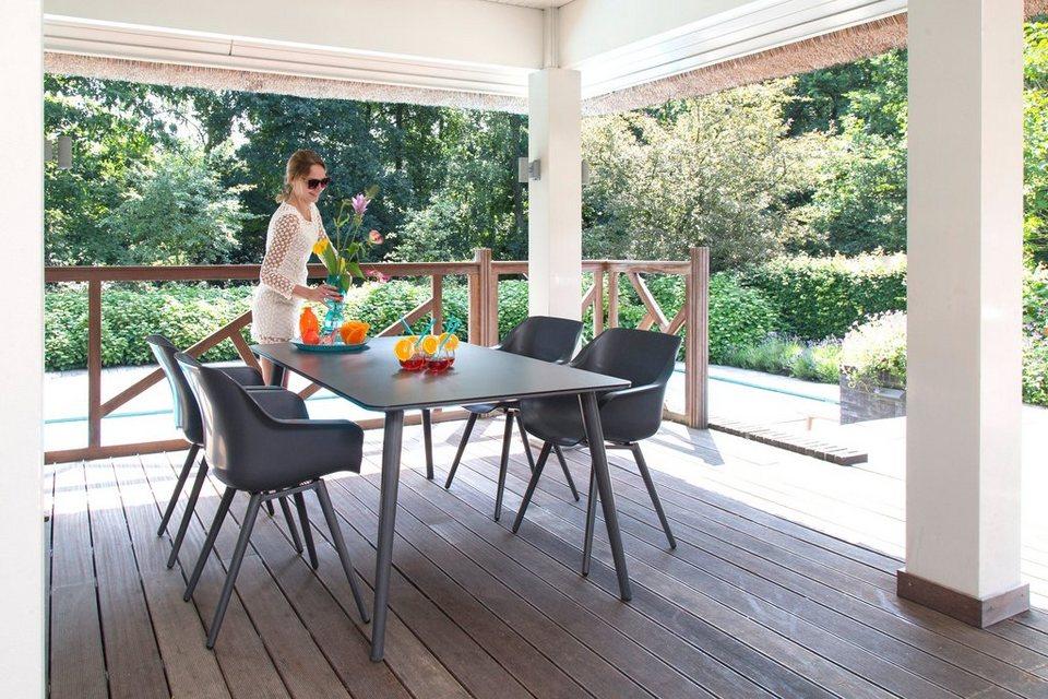 hartman gartenm belset sophie studio 5 tlg 4 sessel tisch 170x100 cm kunststoff online. Black Bedroom Furniture Sets. Home Design Ideas