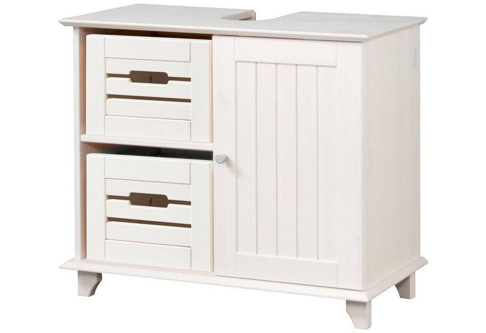 konifera waschbeckenunterschrank venezia landhaus breite 63 cm online kaufen otto. Black Bedroom Furniture Sets. Home Design Ideas