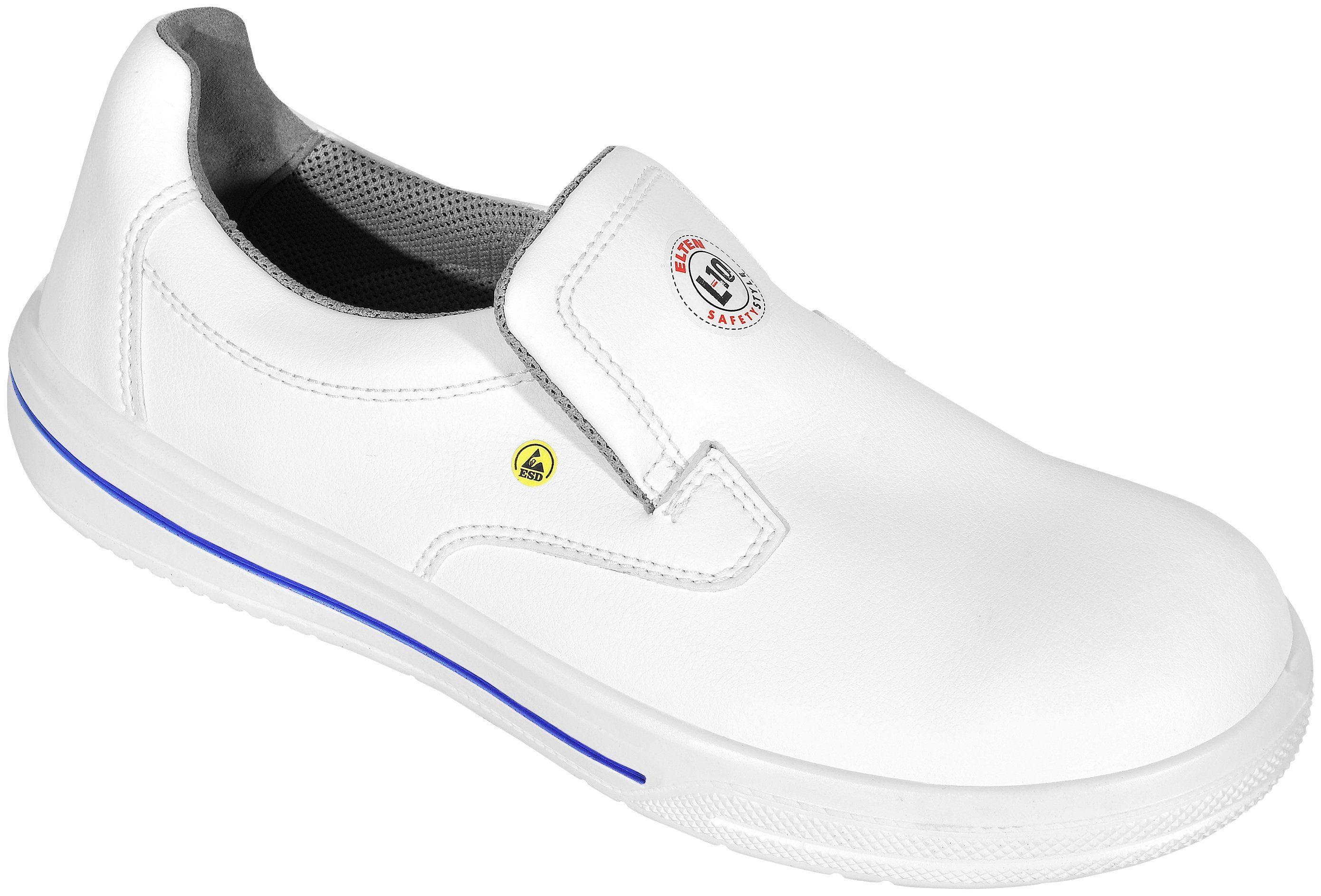 Elten Sicherheitsschuh Pure Slipper kaufen weiß  weiß kaufen cfa924