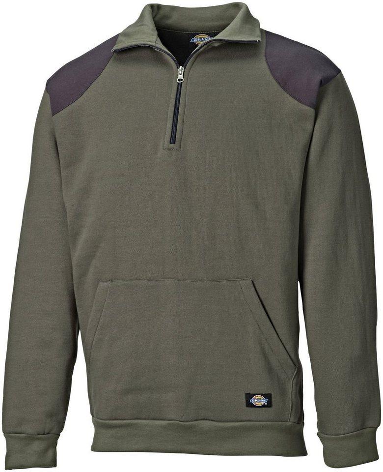 Fleece-Pullover »Kendrick« in moosgrün