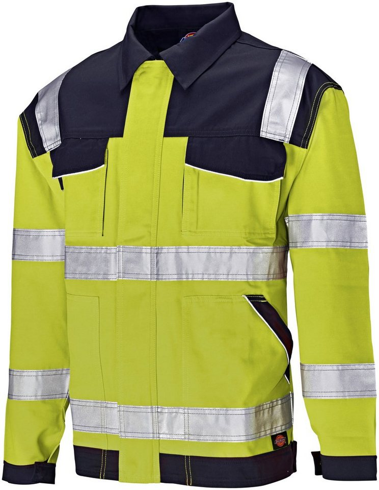 Arbeitsjacke »Industry« High Vis in blau/gelb
