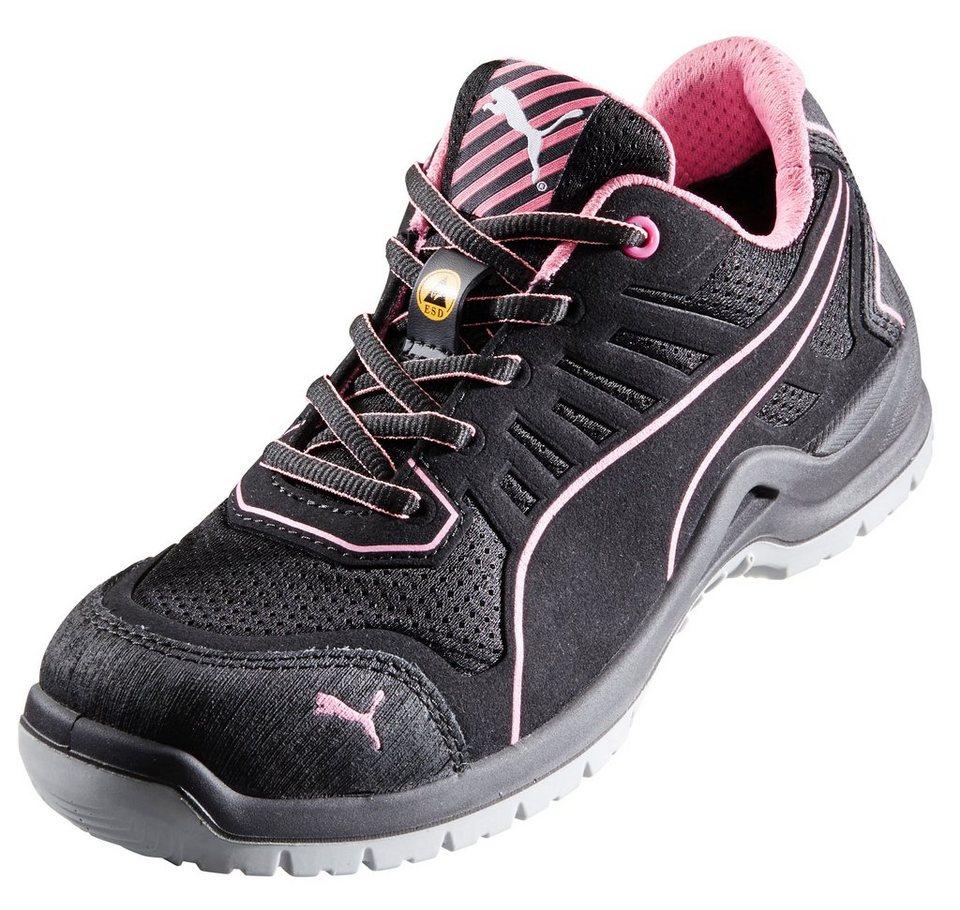Damen Sicherheitsschuh »Fuse TC Pink« in schwarz/rosa