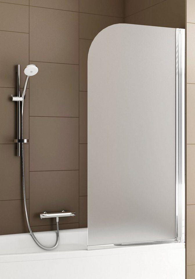 aquaform badewannenaufsatz mit milchglas kaufen otto. Black Bedroom Furniture Sets. Home Design Ideas