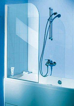 Duschabtrennung badewanne ohne bohren  SCHULTE Badewannenaufsatz »Einfach ohne Bohren«, 80 x 140 cm ...