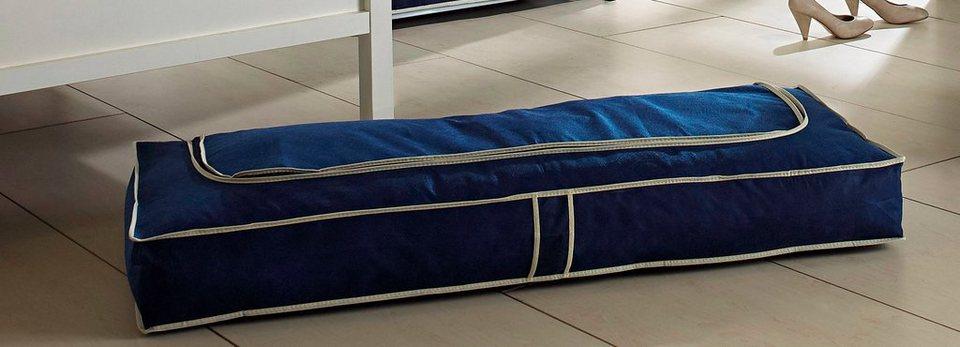 Unterbettkommode »Größe L«, blau, 2er-Set in dunkelblau