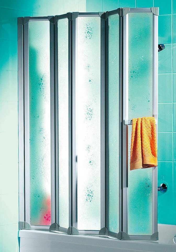 Badewannenaufsatz »Luxus« in alufarben