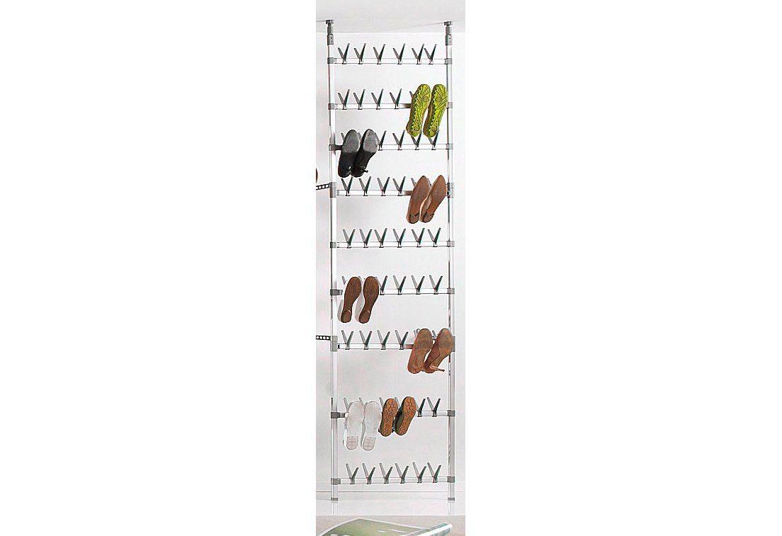Teleskopregal, für 54 Paar Schuhe