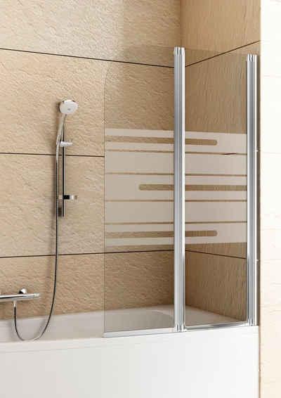 aquaform badewannenaufsatz mit dekor - Trennwand Dusche Kunststoff