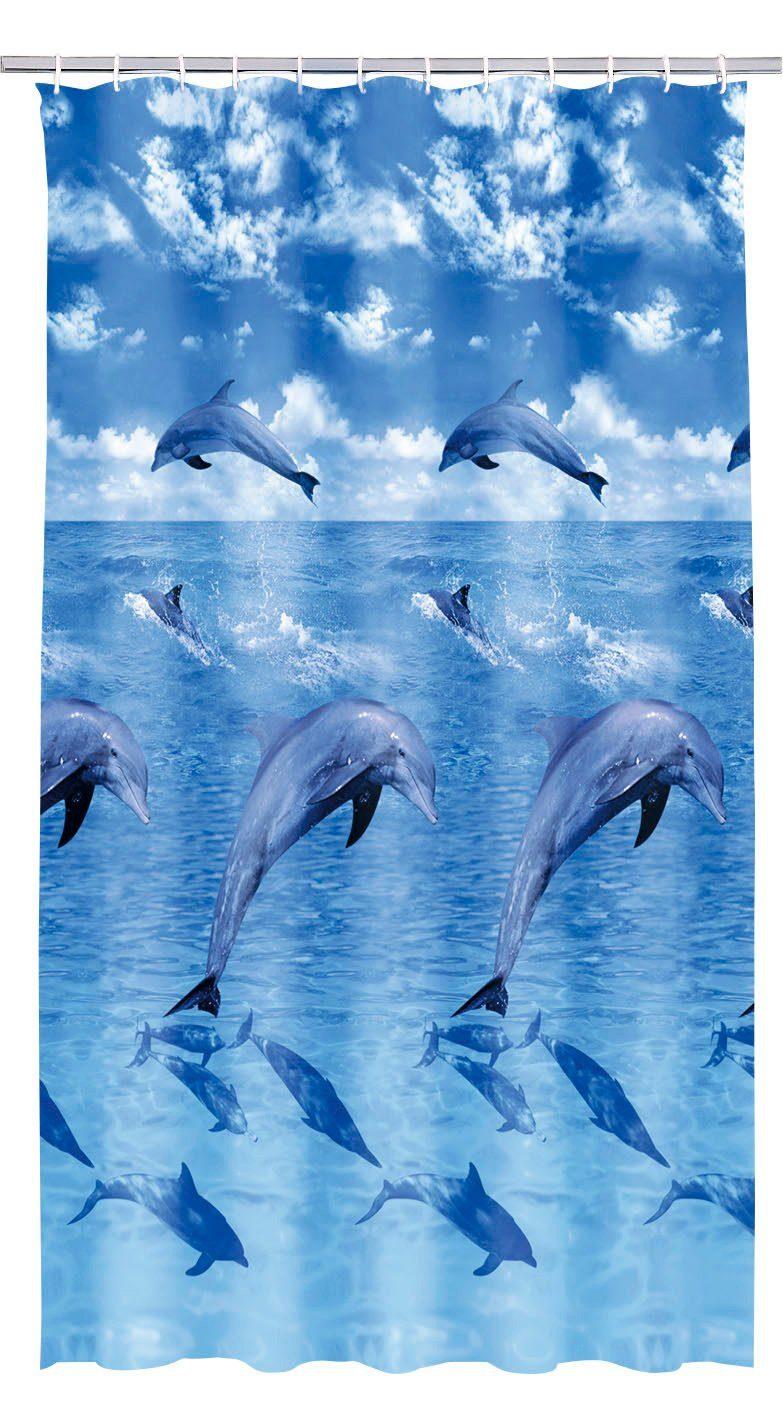 Duschvorhang »Delphin«