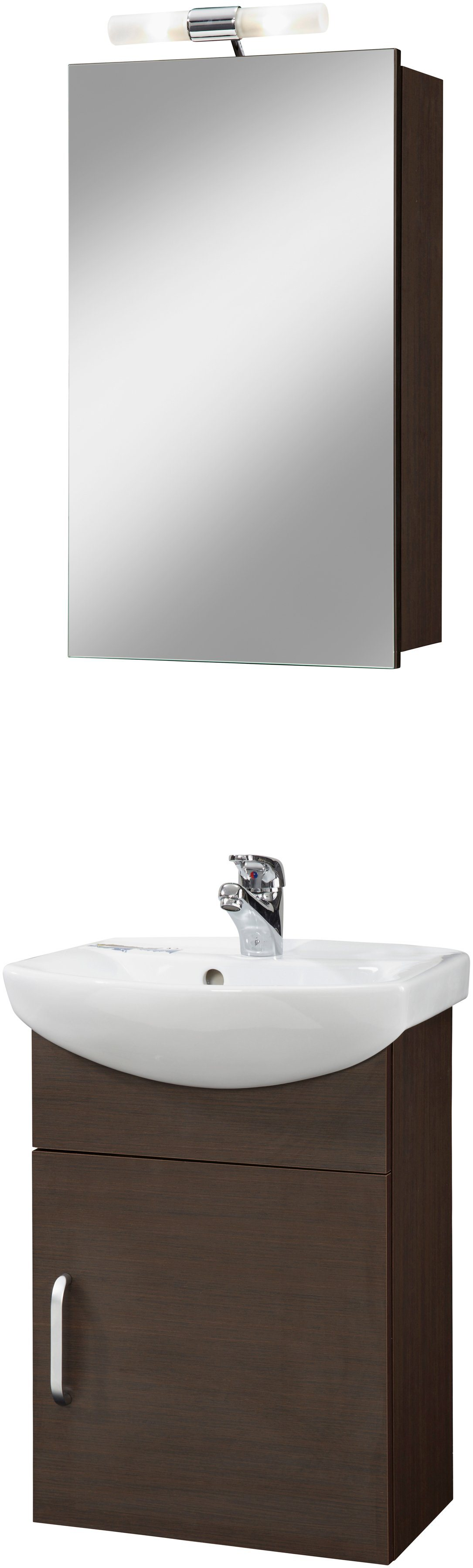 Badmöbel-Set »Milano«, 3-tlg, Breite 45 cm, Tiefe 34,5 cm