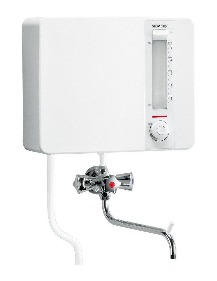 Kochendwasser-Gerät »Siemens BK 20100 inkl. Armatur« in weiß