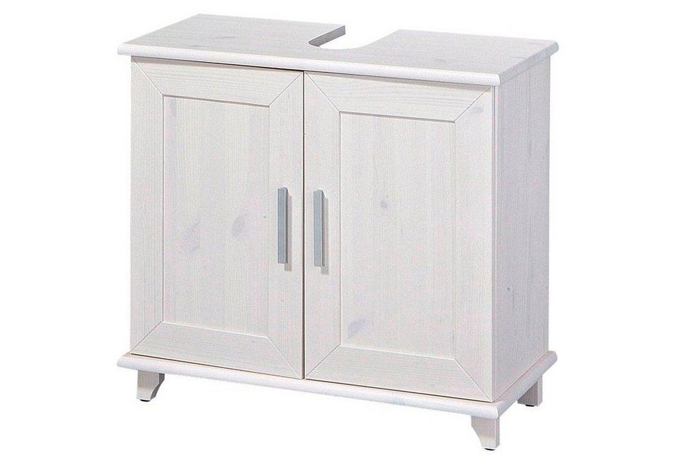 Waschtischunterschrank weiß landhaus  Waschbeckenunterschrank »Rügen«, Landhaus, Breite 67 cm online ...