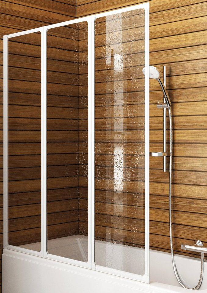 Badewannenaufsatz »Badewannenaufsatz, 120 cm« in weiß