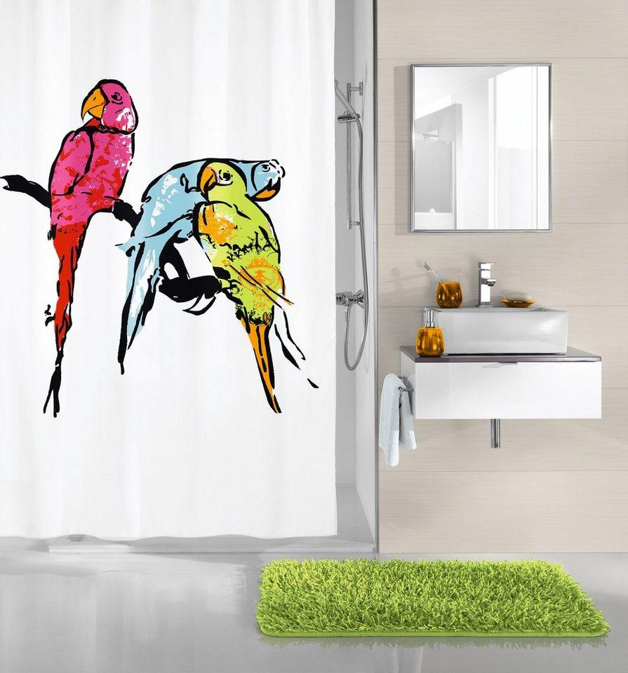 kleine wolke duschvorhang parrot breite 180 cm otto. Black Bedroom Furniture Sets. Home Design Ideas