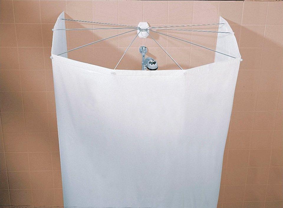 Duschvorhang »Spider« in weiß