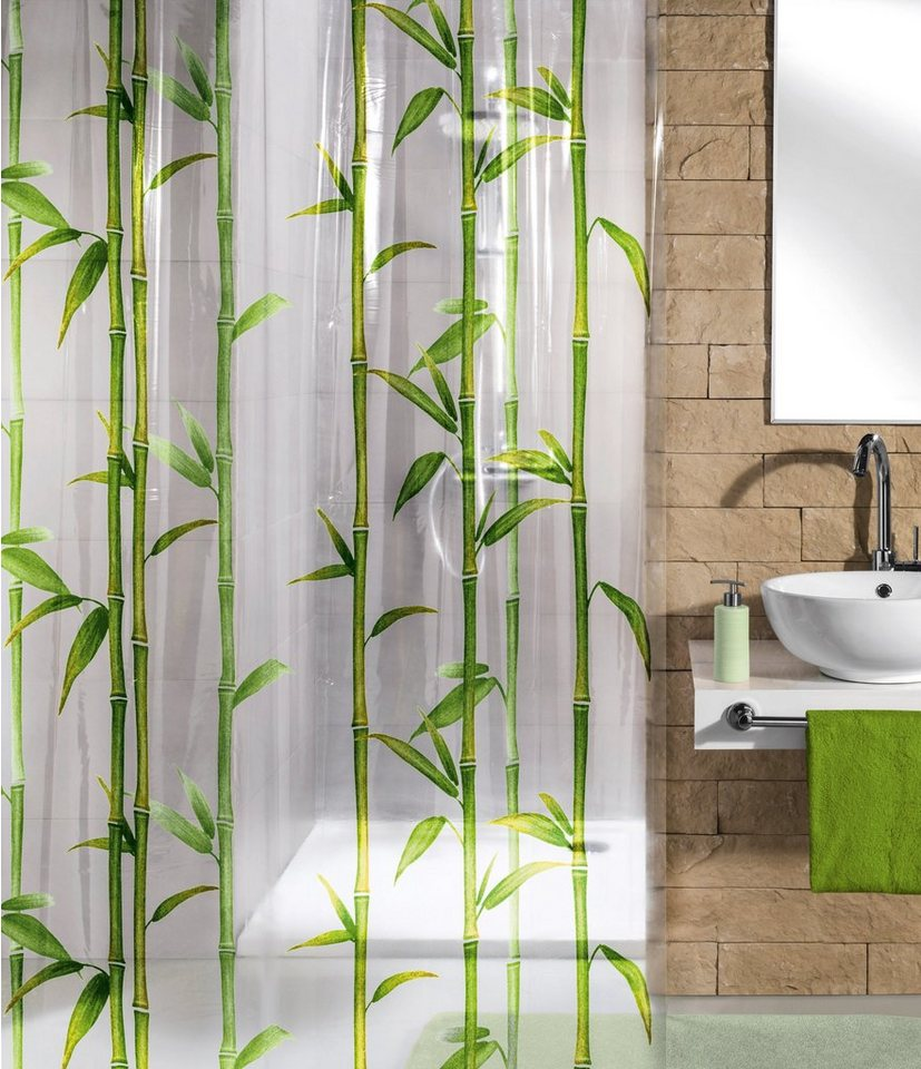Duschvorhang »Bamboo« in grün