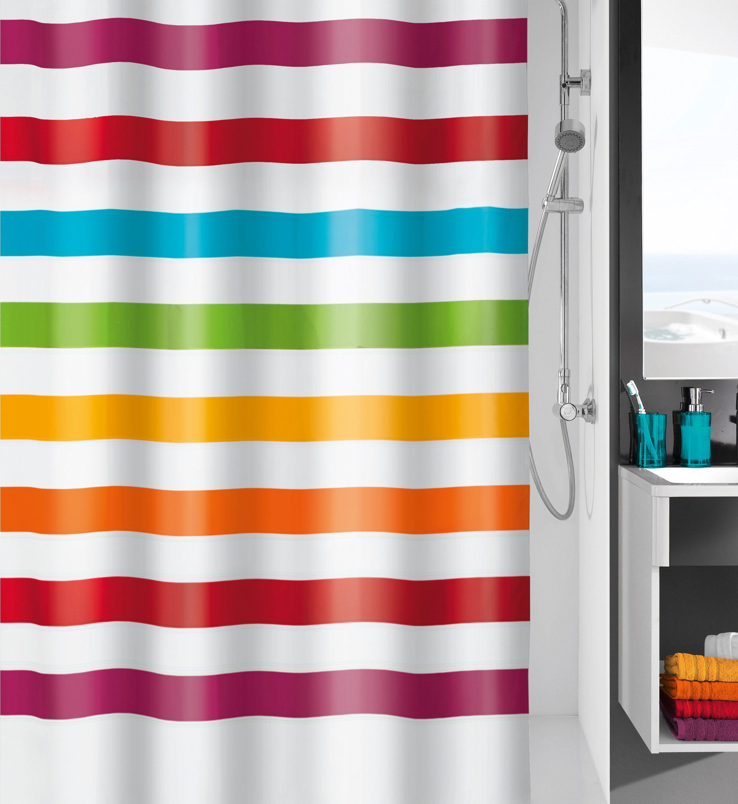 KLEINE WOLKE Duschvorhang »Select«, Breite 180 cm