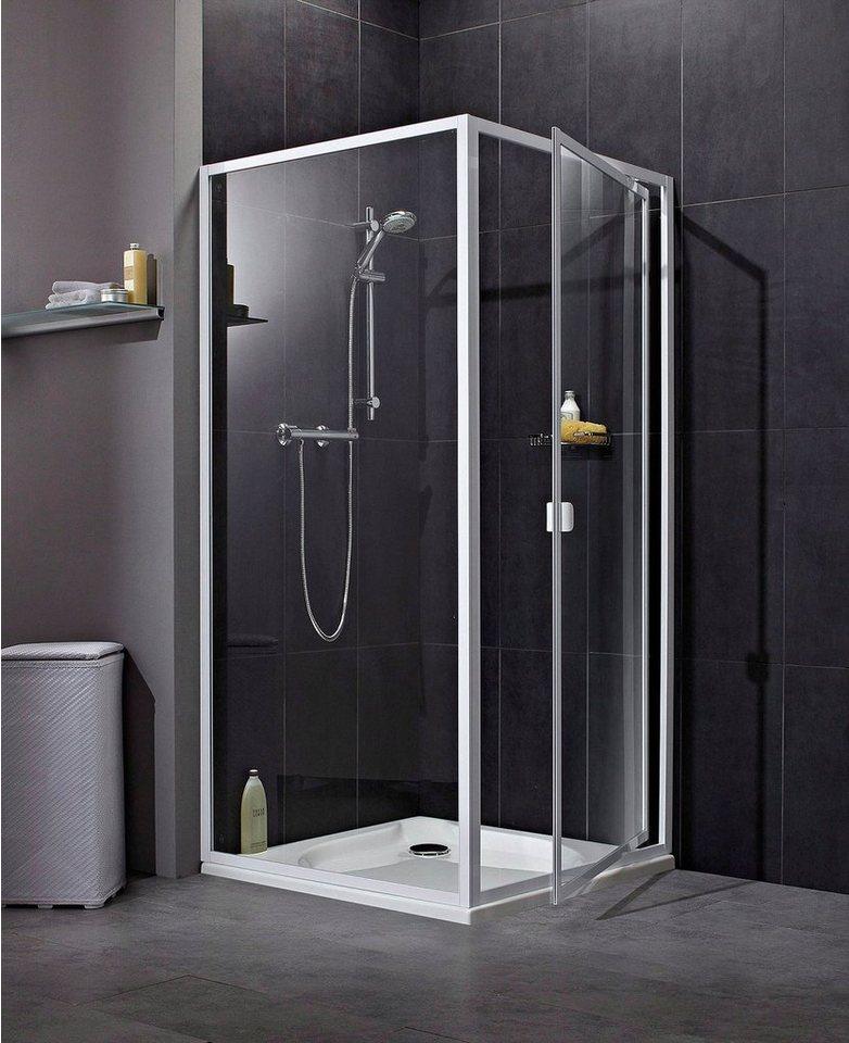 aquaform nischent r elba duscht r mit verstellbereich von 77 79 cm online kaufen otto. Black Bedroom Furniture Sets. Home Design Ideas