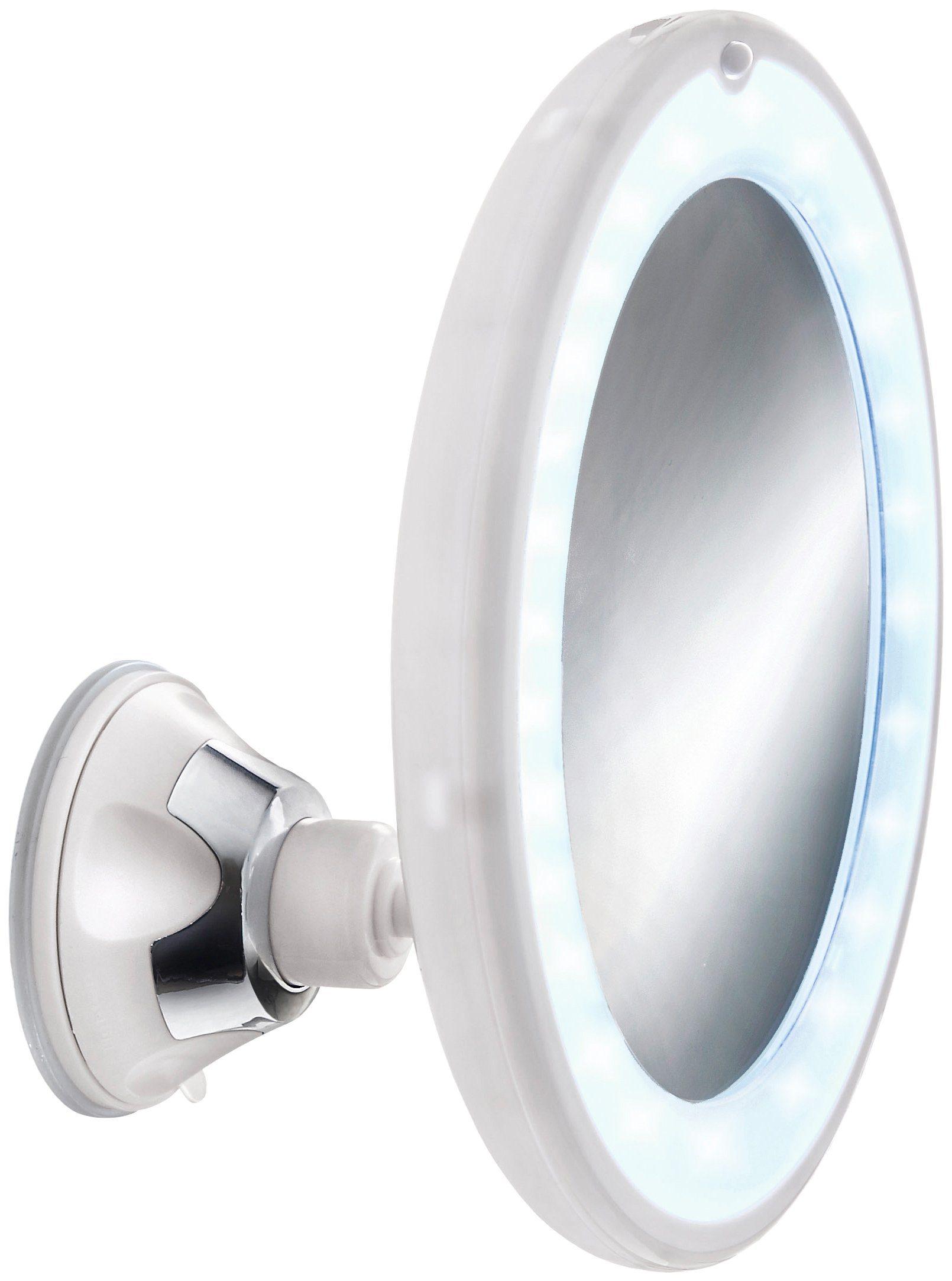 Kosmetikspiegel »Flexy Light«, Durchmesser 17,5 cm