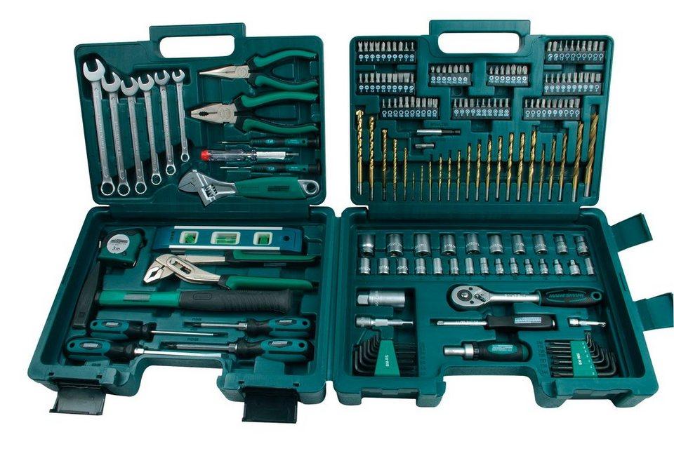 Werkzeugsatz »176-teilig« in silberfarben