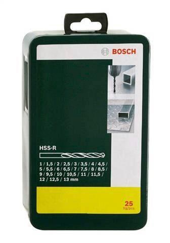 Metallbohrer »HSS-R (25-tlg.)«
