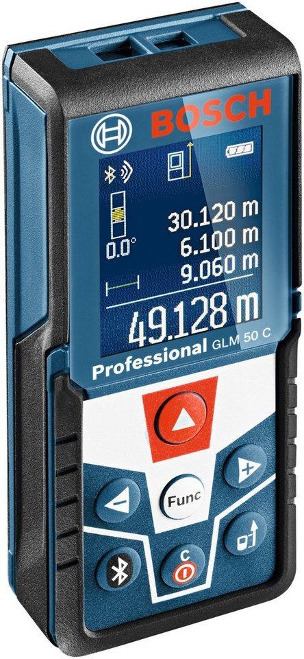 Laser-Entfernungsmesser »GLM 50 C« in blau