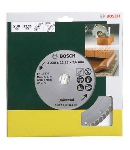 Bosch Diamanttrennscheibe »Turbo, von Bosch Ø 230 mm«
