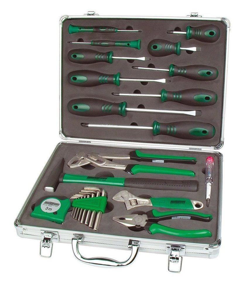 Werkzeugsatz, 24-tlg. in silberfarben