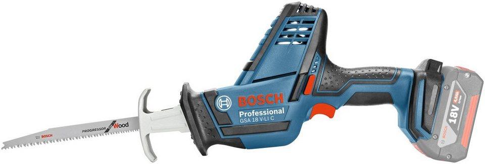 Akku-Säbelsäge »GSA 18 V-LI C« in blau