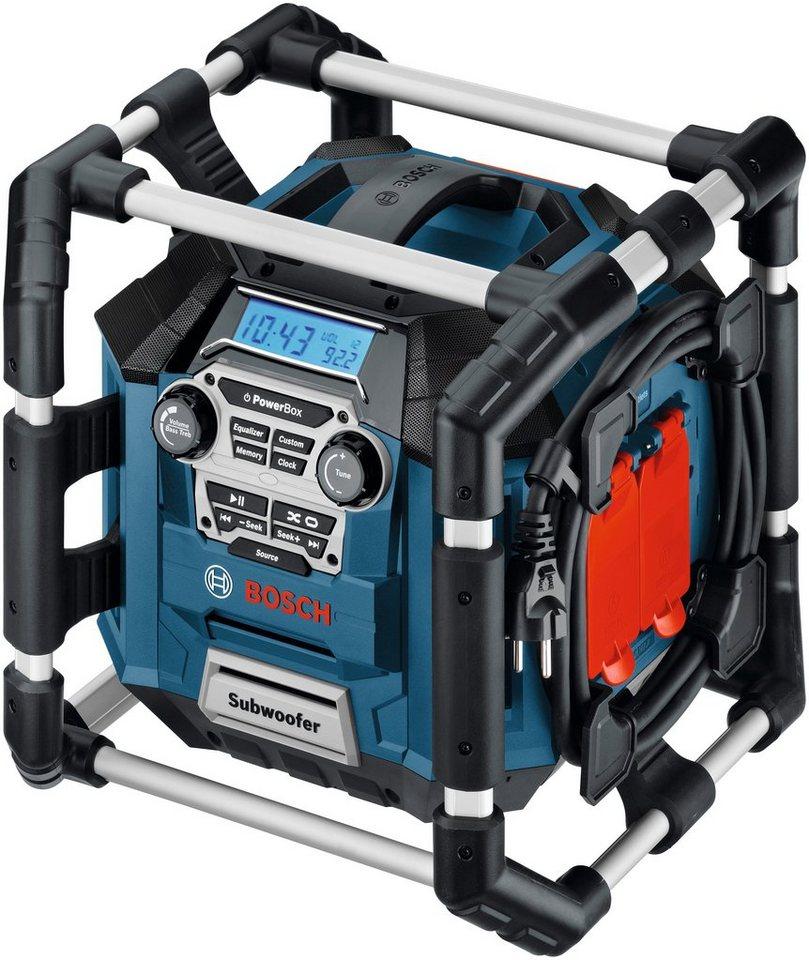 Baustellenradio »GML 20« in blau